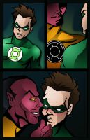my Green Lantern toon by DICKSON87