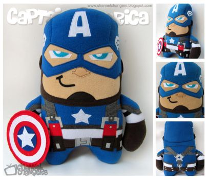 Captain America by ChannelChangers