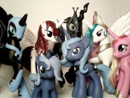 My Alicorn Collection by Oak23