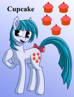 Cupcake Isolated by Starbat