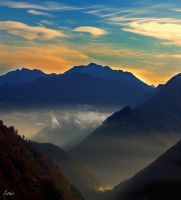 paysage pyrenees by Louis-photos