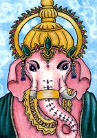 Ganesha by Art-by-Cricket