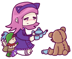 teemo and annie by prochyprochy