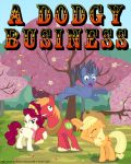 Story Cover: A Dodgy Business by MLP-Silver-Quill