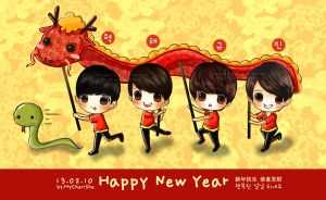 Happy Chinese New Year by MyCherishe