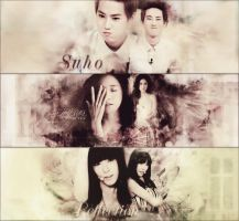 Pack Cover Zing :3 HPBD Suho and YoonA :3 by MinBoyVSoneshowroom