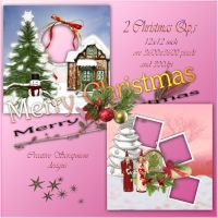 2 Christmas Qp,s preview by Creativescrapmom