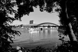 Framed riverview by UdoChristmann