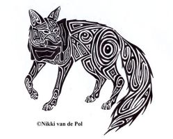 Inari tribal by Nikki-vdp