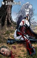 Boundless Lady Death by MattMartinArt