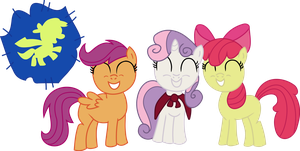 Cutie Mark Crusaders by awesomeluna