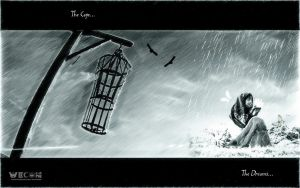 The Cage and Dreams by rajjib