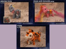 Pooh Ponies by customlpvalley