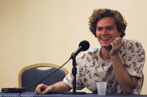 Finn Jones Smiling by michaelaforbus