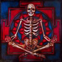 skeleton yantra by a-gomez