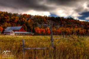 HDR Autumn Homestead by Nebey
