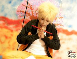 naruto cosplay by Deadelmale