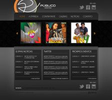 Layout - Publico Eventos by lcdesigner