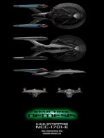 Nemesis Enterprise-E Schematic by trekmodeler