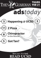 Ads Today UCSD Guardian by unknowninspiration