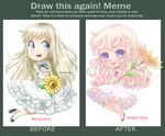 Draw This Again - Menma by nouraii