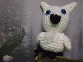 Snow Owl Amigurumi by ShadowOrder7