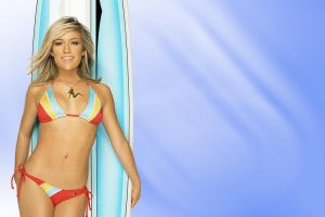 Surfer Chick 1280x800 by SabiShine
