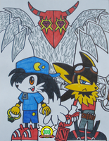 Klonoa, Guntz, and Bagoo by MasterGallade