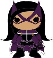 Huntress (Helena Bertinelli)- POP Heroes Style by POPPED-UP