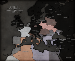 Alternate European Great Powers - 19th Century by GTD-Orion