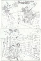 Green Arrow 7 page 03 by timothygreenII