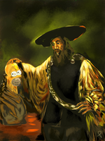 The Great Homer by Rommeu