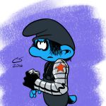 The Winter Smurf by Citrusman19