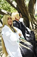 Bleach: Black and Blonde by HRecycleBin