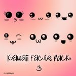 Kawaii faces 3 by ziggy90lisa