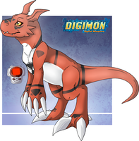 Guilmon by OranValeta