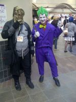 Scarecrow and The Joker by DarkLilly1991