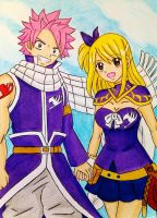 Natsu x Lucy: Team up! by dagga19 by dagga19