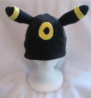 Umbreon hat by CaptHansIsMyMaster