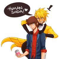 Human Soda by Damare