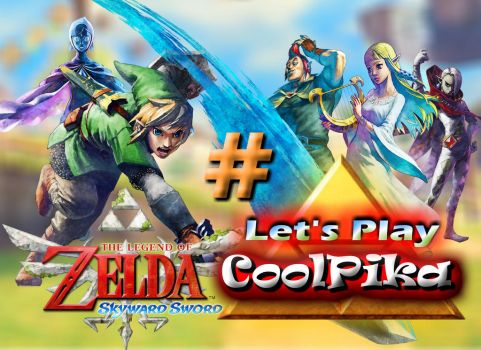 New lets play thumbnail by Coolpika