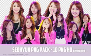 Seohyun PNG Pack - 10 PNG by Pie by ByunPie27