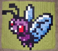 Quilt Panel 6 of 6 Butterfree by scilk