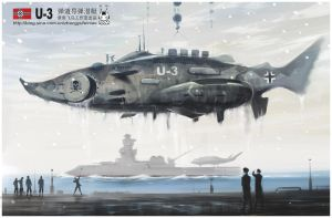 Nazi Submarine U3 by huihui1979