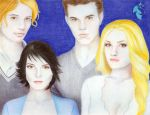 The Cullens by RoseOnyxis