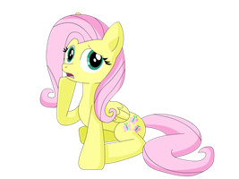 Fluttershy by UMSAuthorLava