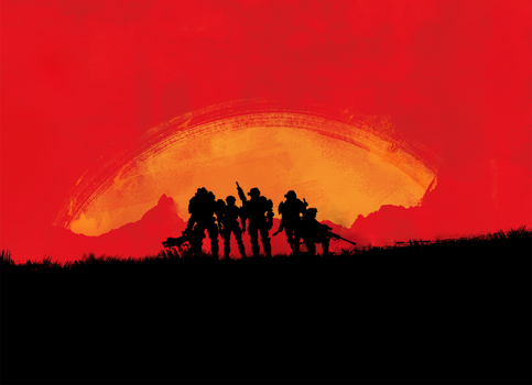 Red Dead Redemption 2 // Halo Reach by LEMOnz07