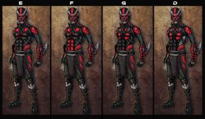 Darth K Revision Iterations 2 by Either-Art