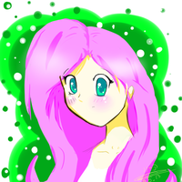 Fluttershy Human by LeaSmile