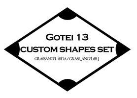 Gotei 13 Custom shapes by Grassangel